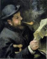Claude Monet - Leyendo